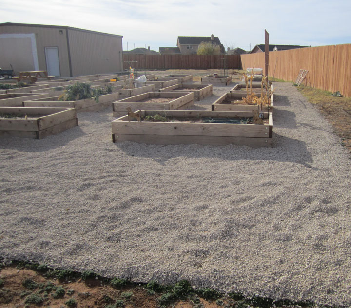 Cubic Yard Measurement Landscaping : The majority of gravel all around victory raised beds garden